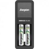 Ceruza (AA), mikroceruza (AAA) akkutöltő, 2db 850mAh-s AAA NiMH akkuval Energizer Mini-Charger 638584