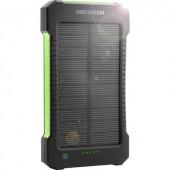 Napelemes mobil töltő Powerbank 8000 mAh, Medion MD 43404