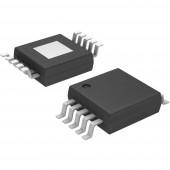 Lineáris IC MCP4728-E/UN MSOP-10 Microchip Technology, kivitel: DAC 12BIT W/I2C