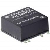 TracoPower THL 6-2411WISM DC/DC feszültségváltó, SMD 24 V/DC 5.1 V/DC 1200 mA 6 W Kimenetek száma: 1 x