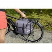 Fischer Fahrrad 50322 Csomagtartó táska Szürke