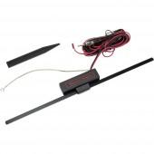 Szélvédőre ragasztható, beltéri autós antenna AM/FM, Baseline 10080