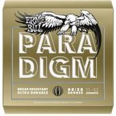 Ernie Ball Westerngitár készlet 2088 Paradigm 80/20 Bronze Light 011-052