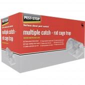 Élő csapda PEST STOP Multicatch Rat Cage Attraktáns 1 db