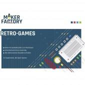 MAKERFACTORY Retro-Games Retro videójáték 14 éves kortól