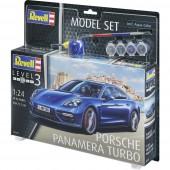 Revell 67034 Porsche Panamera Turbo Autómodell építőkészlet 1:24