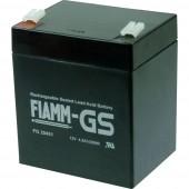 Fiamm PB-12-4,5-4,8 FG20451 Ólomakku 12 V 4.5 Ah Ólom-vlies (AGM) (Sz x Ma x Mé) 90 x 107 x 70 mm 4,8 mm-es laposérintkezős dugó Karbantartásmentes, Kis
