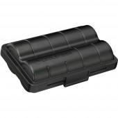 Ledlenser 2x 18650 +Batterybox Speciális akku 18650 Lítiumion 3.6 V 3400 mAh