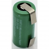 Varta CR17335 ULF Speciális elem CR 2/3 AH U forrfül Lítium 3 V 1500 mAh 1 db