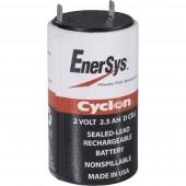 Zselés akkumulátor, 2 V 2,5 Ah