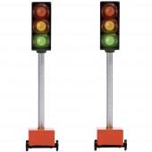 Busch H0 Építési terület lámpák Funkciós modell 5451 2 db