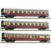 """Fleischmann 881912 3 db 2. készlet: Autóvonat """" Christoforus-Express"""" , DB"""