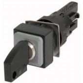 Eaton Q18S1 Kulcsos gomb Műanyag előlapi gyűrű Kulcs Fekete 1 db