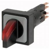 Eaton Q25LWK1R-RT/WB Választógomb Műanyag előlapi gyűrű Pecek Fekete 1 db