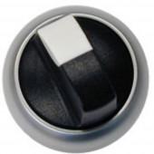 Választógomb Műanyag előlapi gyűrű Pecek Fekete Eaton M22-WKV 1 db
