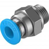 FESTO Egyenes összekötő Cső átmérő: 6 mm Menet méret: G1/8