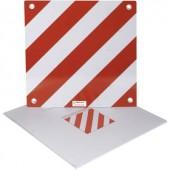 Alumínium figyelmeztető tábla, 500 x 500 mm (Sz x Ma) 500 mm x 500 mm