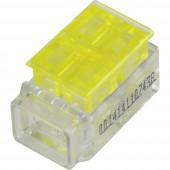 1282792 Egyvezetékes összekötő ATT.CALC.CROSS_SECTION_FLEXIBLE: 1.5-2.5 mm² ATT.CALC.CROSS_SECTION_RIGID: 1.5-2.5 mm² Pólusszám: 3 1 db Sárga