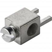 360410 Érintkező, egyes 2.5 mm² Pólusszám 1 Ezüst 1 db