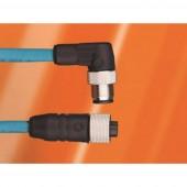 AlphaWire DR05AR102 SL357 Érzékelő-/működtető csatlakozóvezeték M12 Dugó, egyenes, Csatlakozóaljzat, egyenes 3 m Pólusszám: 5 1 db
