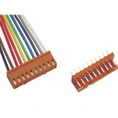 BKL Electronic Konfekcionált huzal Pólusok száma 10 Raszterméret: 2.50 mm 072508 1 készlet