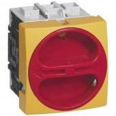 BACO 0172401 Terhelés elválasztó kapcsoló 80 A 1 x 90 ° Sárga, Piros 1 db