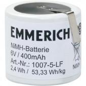 Akkucsomag, NiMH Emmerich speciál, 32, 6 V Z-forrfüllel Emmerich 400 mAh, 5, speciális akku, NiMH, 1 db, 1007-5-LF