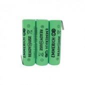 Akkucsomag, ceruza, Emmerich Ready to Use 2200 mAh, 3, ceruza (AA), NiMH, 3.6 V, 1 db, ReadyToUse ceruza