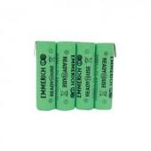 Akkucsomag, ceruza, Emmerich Ready to Use 2200 mAh, 4, ceruza (AA), NiMH, 4.8 V, 1 db, ReadyToUse ceruza