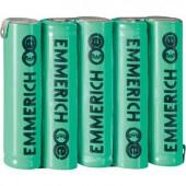 Emmerich NiMH csomag AAA 800 mAh 6V, FT-1Z