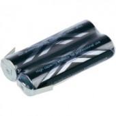 Mikro ceruza akkupack, forrfüles NiMH ZLF AAA 2,4V 900 mAh 21 x 10.5 mm x 44.5 mm Sanyo XX (powered by eneloop)