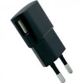 Hálózati USB töltő adapter, 100-240V/AC 5V/DC max. 1200 mA HN Power HNP06-USBV2-BLACK-C