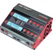 Intelligens, automata modell akkutöltő, LiPo akkutöltő 230V/12V 10A VOLTCRAFT V-Charge 100 Duo