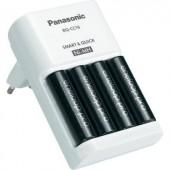 Panasonic Dugaszos töltő, BQ-CC16, 4 db eneloop pro akkuval K-KJ16HCC40E BQ-CC16 + 4 db eneloop pro