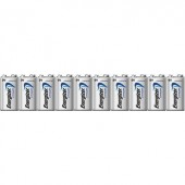 9V-os elem készlet, lítium, 9V, 10 db, Energizer Ultimate 6LR61, 6LR21, 6AM6, 6LP3146, MN1604, A1604, E Block, LR22