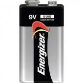 9V-os elem, alkáli mangán, 9V, Energizer Power 6LR61, 6LR21, 6AM6, 6LP3146, MN1604, A1604, E Block, LR22