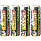 Ceruza akku AA, NiMH, 1,2V 2600 mAh, 4 db, Conrad Energy Endurance LR06, AA, LR6, AAB4E, AM3, 815, E91, LR6N