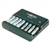 Ceruza AA, mikroceruza AAA akkutöltő, processzoros NiCd, NiMH akkutöltő Ansmann Powerline 8 1001-0006
