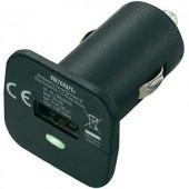 Szivargyújtó USB töltő adapter, Micro USB kábellel 12V/5VDC 2400mA Voltcraft CPS-2400