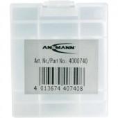 Ansmann 4db-os ceruza-, mikroelem tartó doboz