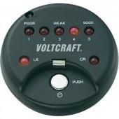 Gombelem teszter alkáli és lithium gombelemekhez Voltcraft