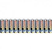 Ceruzaelem AA, cink-szén, 1,5V, 12 db, Conrad Energy LR06, AA, LR6, AAB4E, AM3, 815, E91, LR6N