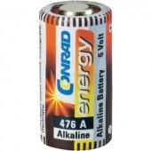 476A alkáli elem, távirányító elem, 6V 145 mAh, Conrad Energy A476, E476A, V4034PX, V476A, V476GA, L1325, V34PX