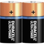 Góliát elem D, alkáli mangán, 1,5V, 2 db, Duracell Ultrapower LR20, D, AM1, XL, MN1300, 813, E95, LR20N, 13A