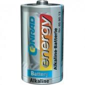Góliát elem D, alkáli mangán, 1,5V, Conrad Energy LR20, D, AM1, XL, MN1300, 813, E95, LR20N, 13A