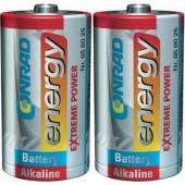 Góliát elem D, alkáli mangán, 1,5V, 2 db, Conrad Energy Extreme Power, LR20, D, AM1, XL, MN1300, 813, E95, LR20N, 13A