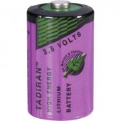 1/2 AA lítium elem, 3,6V 1100 mAh, 15 x 25 mm, Tadiran SL750/S
