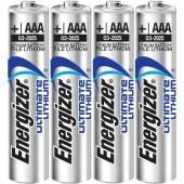Mikroelem Lítium Energizer Ultimate LR03 1250 mAh 1.5 V 4 db
