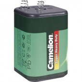 4R25 cink-szén elem, lámpaelem, 6V 7000 mAh, Camelion 4R25C, 430, GP908X