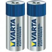 23A alkáli elem, távirányító elem, 12V 50 mAh, 2 db, Varta Professional A23, E23A, V23A, V23PX, V23GA, L1028, MN21, G23A